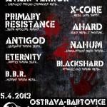 Bartovice noise plakát