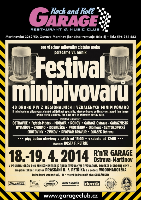 a Festival Minipivovarů