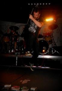 ryan Aiken, guitar, Lazer/Wulf (USA)